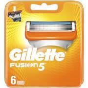 Gillette Fusion5 Razor Blades for Men - 6 Count