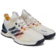 ADIDAS ADIZERO UBERSONIC 2 PW Tennis Shoes For Men(White)