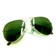 Sluneční brýle Aviator - zelené