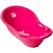 Cadita copii Printesa 102 cm Roz cu senzor de temperatura