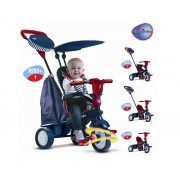 SMART TRIKE Tricikl guralica STAR TEGET - CRVENI (6752502)