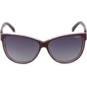 Image Cat-eye Sunglasses(Grey, Blue)