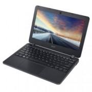 "Лаптоп Acer TravelMate B117 (NX.VCHEX.019), двуядрен Braswell Intel Celeron N3060 1.6/2.48 GHz, 11.6"" (29.46 cm) HD дисплей(HDMI), 4GB DDR3L, 64GB eMMC, 1x USB 3.0, Windows 10, 1.40kg"