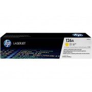 """""""Toner HP LaserJet Original 126A Amarelo CE312A"""""""