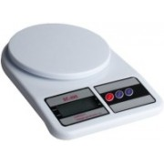 E-DEAL Electronic Kitchen 7Kg Weighing Scale(White)