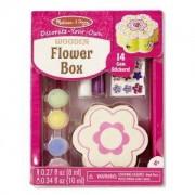 Декорирай своята дървена кутия Цвете Melissa and Doug, 000772188524