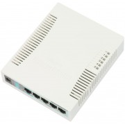 MikroTik RouterBOARD 260GS 5-port Gigabit smart switch