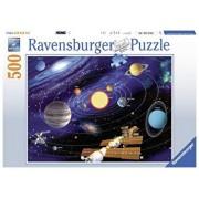 Puzzle Sistemul solar, 500 piese