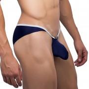 Joe Snyder Sock It Minicheek Bikini Underwear Navy SK04