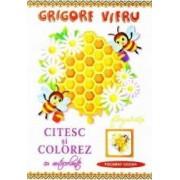 Citesc si colorez cu autocolante Fagurasi - Grigore Vieru
