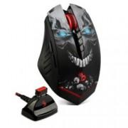 Мишка A4tech Bloody R80, оптична (3200 dpi), безжична, щампа, 7 програмируеми бутонa, LED подсветка