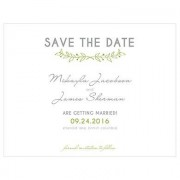 Confetti Woodland Pretty Save The Date Card