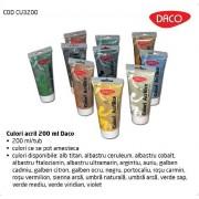 Culori acril 200 ml Daco