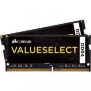 Corsair Sada RAM pamětí pro notebooky Corsair Value Select CMSO16GX4M2A2133C15 16 GB 2 x 8 GB DDR4-RAM 2133 MHz CL15-15-15-36