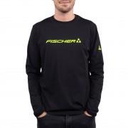 Fischer Skiwear Fischer Men Longsleeve BIG LOGO black