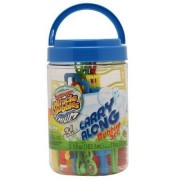 Super Miracle Bubbles Premium Carry Along Bubble Set 26 Pieces in Carrying Bucket
