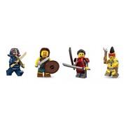 LEGO Lego Kendo Fighter Indian Warrior Samurai Girl Celtic Warrior