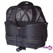 TRIXIE Torba za prijevoz psa za bicikl 29x42x48 cm Crna 13118