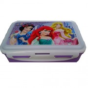 ski Disney Princess printed LUNCH BOX FOR SCHOOL KIDS 800ML (colour & Barbie print may vary)