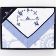 ROYAL COPENHAGEN/ロイヤルコペンハーゲン 綿毛布1枚 ギフトセット