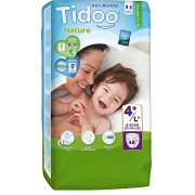 Tidoo Nature Luiers Maat 4+ 9-20kg