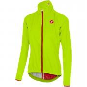 Castelli Women's Riparo Jacket - Yellow Fluo - S - Yellow Fluo