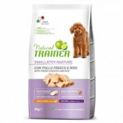 3x2kg Small & Toy Maturity Pollo fresco Trainer Natural Alimento per cani