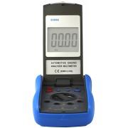 HOLDPEAK 6300A Gépjármű diagnosztikai műszer 4-5-6-8 henger RPM zárási szög impulzus hőmérséklet akkus.