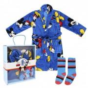 Disney Mickey dobozos wellsoft köntös+zokni szett