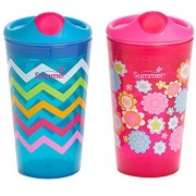 Summer Infant Sippy Stackers Sippy Cup Girl 10 Ounce