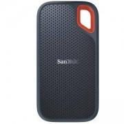 Външен диск SSD 500GB SanDisk Extreme Portable, USB 3.1 Gen 2 Type-C, 2.5 (6.35 cm), скорост на четене 550 MB/s, SDSSDE60-500G-G25