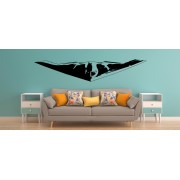 F-35 US AIR Force stealth fight jet wall decal boy bedroom.