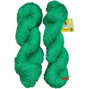Vardhman Charming Green 300 gm hand knitting Soft Acrylic yarn wool thread for Art & craft Crochet and needle