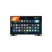 Smart Tv Led 48 Samsung Full Hd 2 Hdmi 1 Usb Wi-fi 48j5200