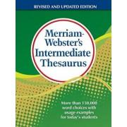 Merriam-Webster's Intermediate Thesaurus, Hardcover/Merriam-Webster