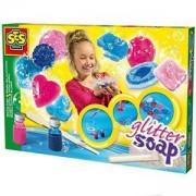 Детски комплект Направи си сам - Цветни сапунчета SES, 080936