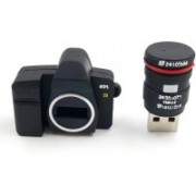 Microware High Quality Camera Shaped 8 Gb Usb Pen Drive 8 GB Pen Drive(Black)