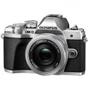 Olympus E-M10 Mark III kamerahus silver + M.Zuiko Digital 14-42/3,5-5,6 EZ