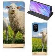 Samsung Galaxy S20 Plus Hoesje maken Schaap en Lammetje