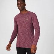 Myprotein Performance Long Sleeve T-Shirt - Burgundy Marl - S