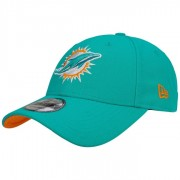 New Era 9Forty The League Dolphins Cap Basecap Strapback Baseballcap Kappe NFL Miami