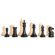 Piese de șah din plastic model COLLECTOR cu contragreutate
