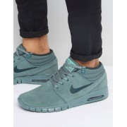 Nike Зеленые кроссовки Nike SB Stefan Janoski Max 807509-333 - Зеленый
