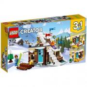 Set de constructie LEGO Creator Vacanta de Iarna Modulara