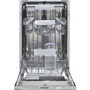 Masina de spalat vase Heinner incorporabila HDW-BI4583TA++, 10 seturi, 8 programe, Control touch, Display LED, Incarcare la jumatate, 45 cm, Clasa A++, Alb