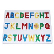 Kido Toys Alphabet Puzzle Board English Capital Letters with knobs