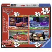 PUZZLE DISNEY CARS, 4 BUC IN CUTIE, 12/16/20/24 PIESE (RVSPC07259)