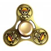 ECUBEE Hand Spinner Gold Fidget Spinner Finger Focus Reduce Stress Gadget