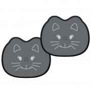 Napvédő fekete cica 37x44cm 2db 22053