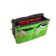 Organizer för handväskan grön